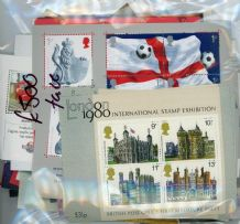 £500 Face Value Bag of GB Miniature Sheets (wide range of values)